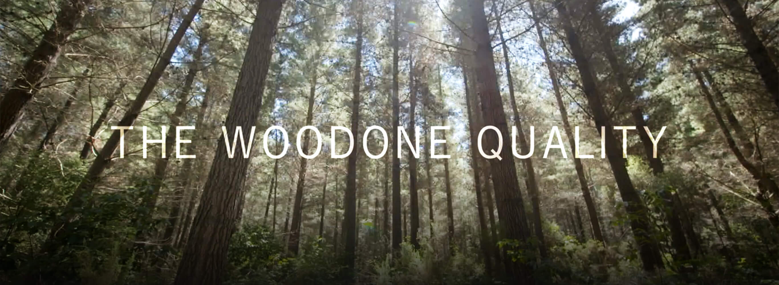 THE WOODONE QUALITY