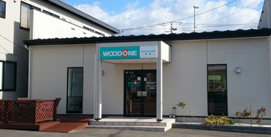 WOODONE PLAZA仙台外観